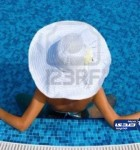 5719720-woman-with-white-hat-relaxing-in-swimming-pool-in-blue-water